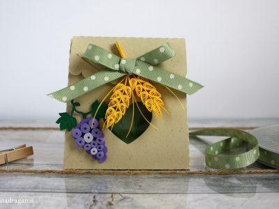scatolina portaconfetti comunione simboli religiosi