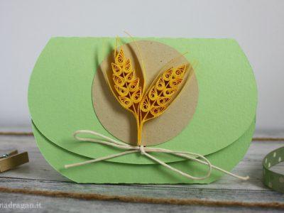 portaconfetti per confettata comunione