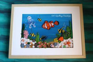 quadro da collezione fondale marino 3d