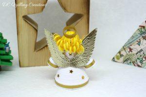 angelo 3d addobbo albero