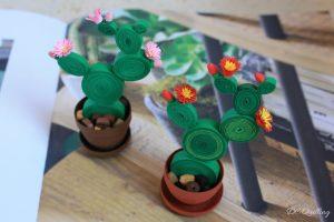 bomboniera cactus quilling