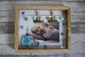 decorazione cameretta neonato quadretto con elefantino