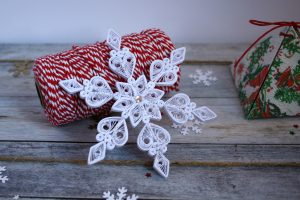 fiocco di neve quilling