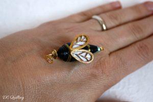 pendente ape regina quilling art