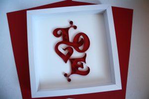 quadro regalo san valentino originale