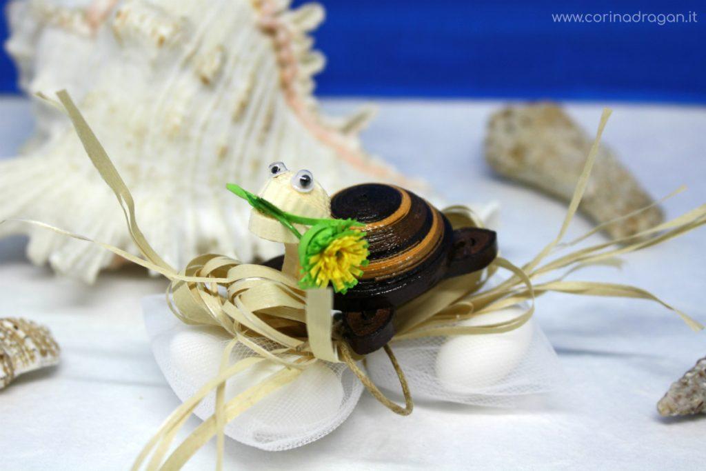 tartaruga bomboniera segnaposto