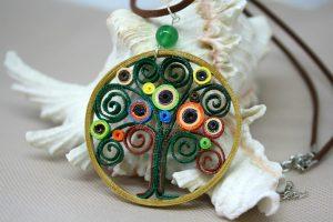 collana ciondolo albero della vita
