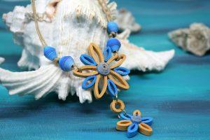 collana stella marina artigianale