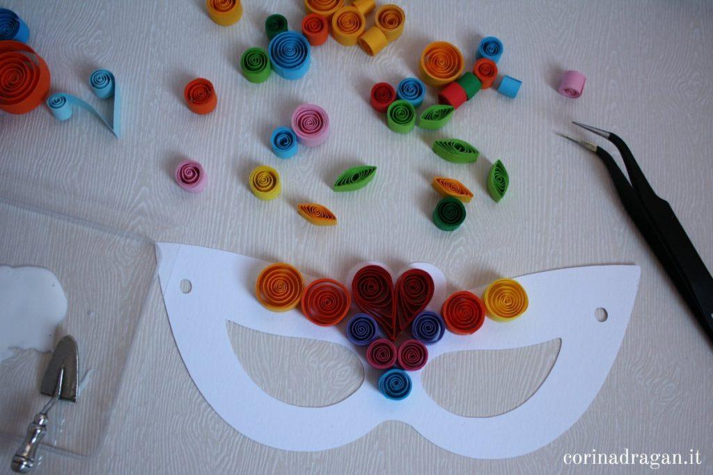 maschere carnevale carta