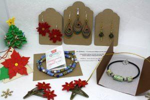 gioielli e accessori in carta quilling