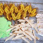 spighe di grano decorazioni quilling comunione