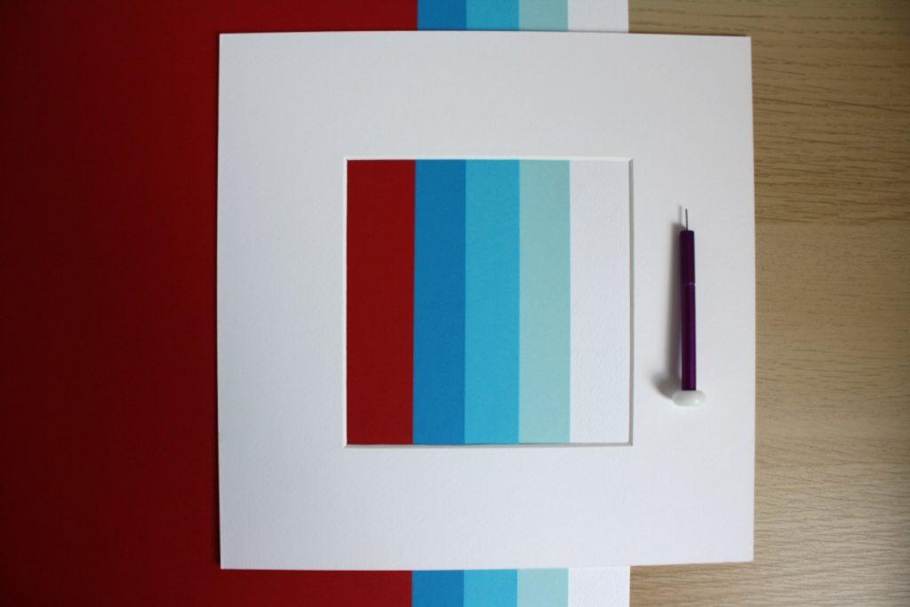 palette colori quadro personalizzato nascita bimbo