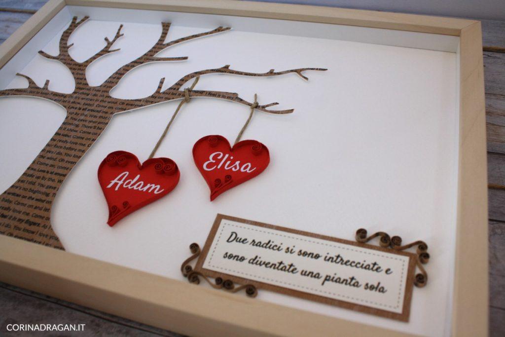 quadri da regalare anniversario di matrimonio