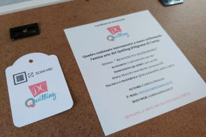certificato autenticità quadro artistico quilling