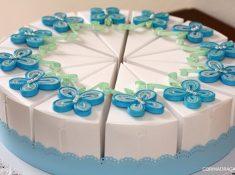bomboniera fetta di torta