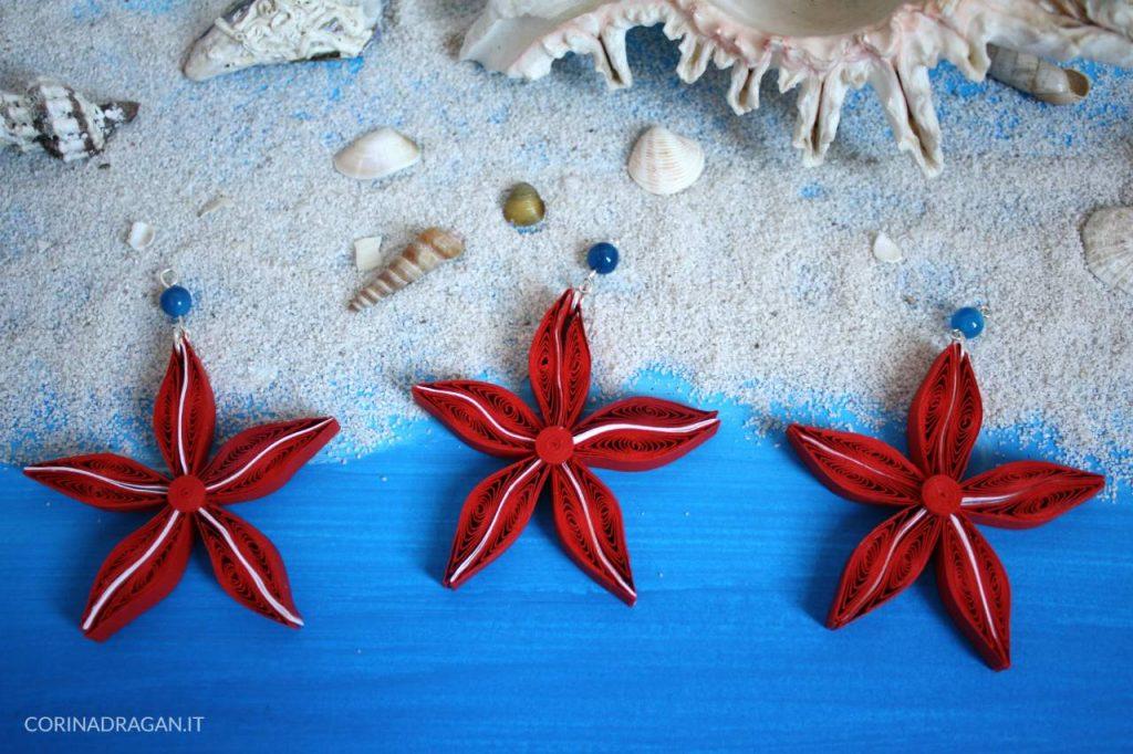 bomboniere tema mare ciondolo stella marina