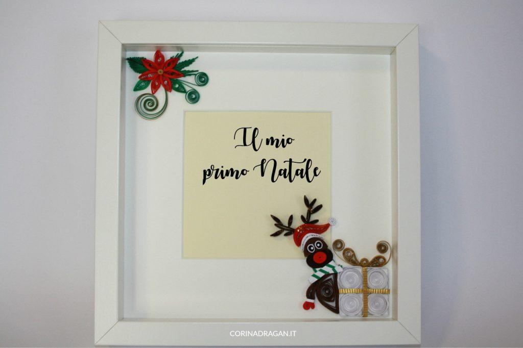 portafoto natalizio per bambini